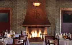 Paso Robles Inn Steakhouse Wood Burning Fireplace