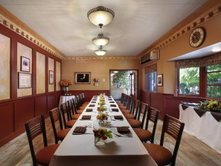 Elegant dining in Paderewski room