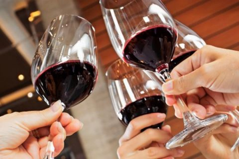 Cheers with Red Paso Robles Wine