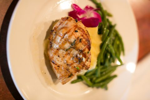 Juicy Grilled Chicken at Paso Robles Inn Steakhouse
