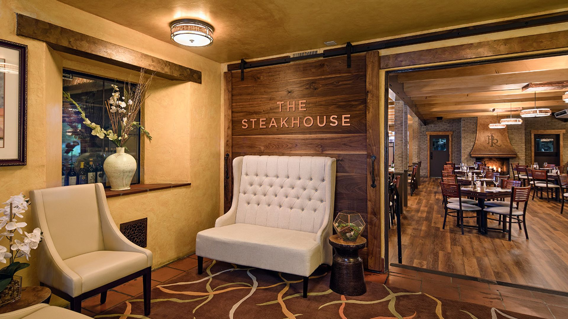 Interior of Paso Robles Steakhouse