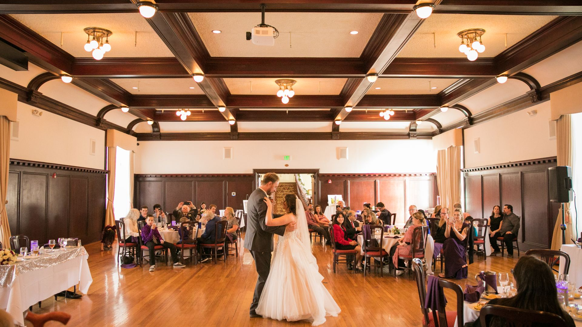 Indoor wedding at Paso Robles Inn